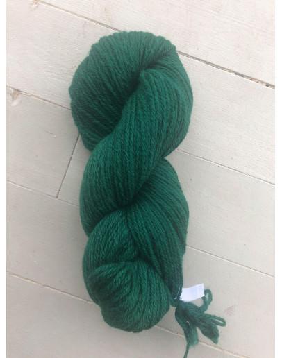 Nr 256 Buteljgrön, Ullgarn Tretrådigt