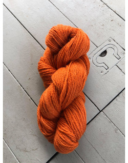Nr 208 Orange, Ullgarn Tvåtrådigt