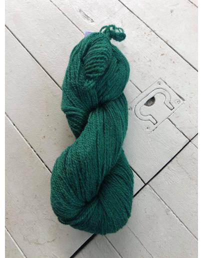 Nr 226 Buteljgrön, Ullgarn Tvåtrådigt