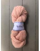 Ljus persika, Sockgarn handfärgade naturfärger